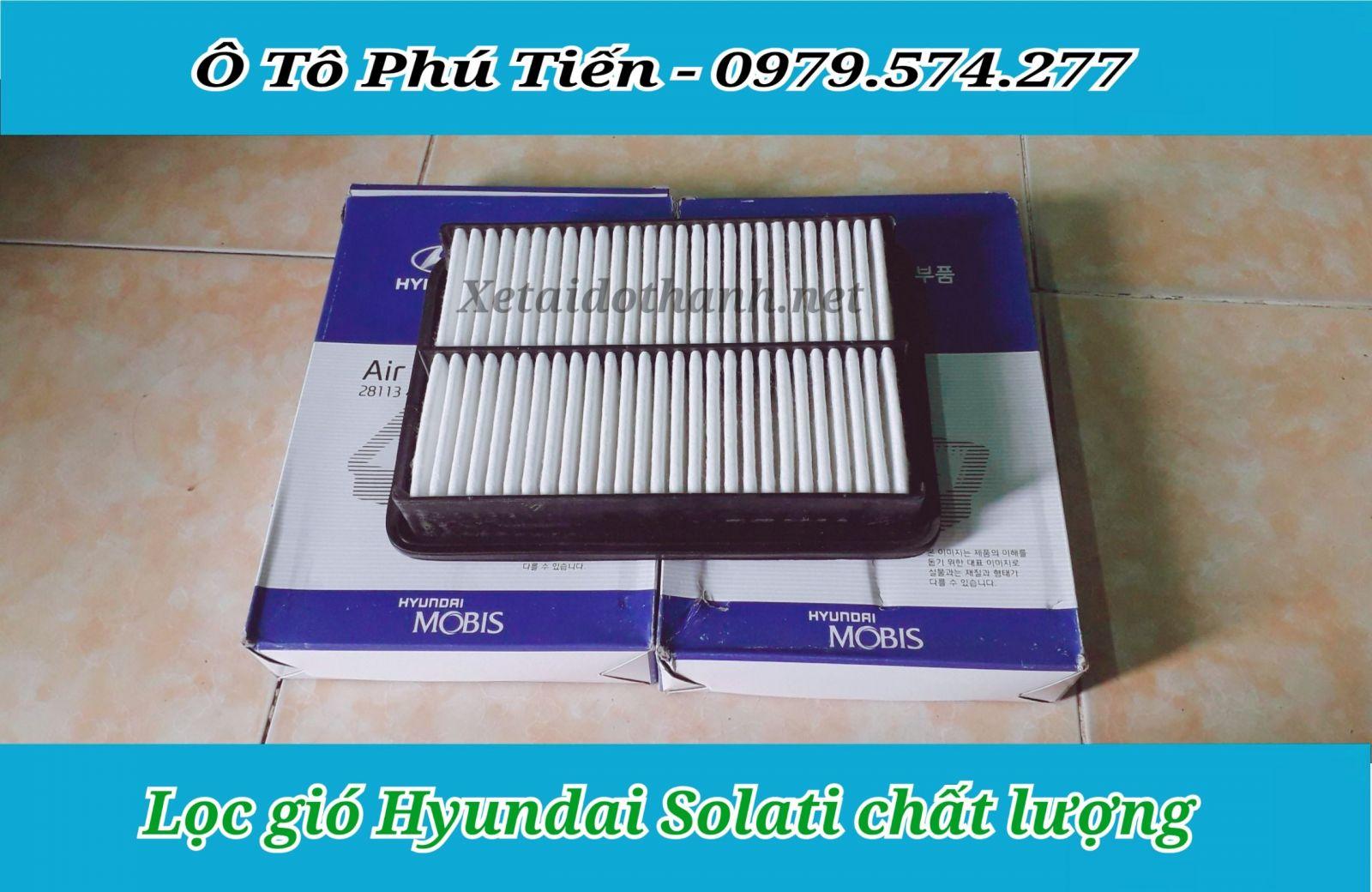 Lọc gió Hyundai Solati chất lượng cao