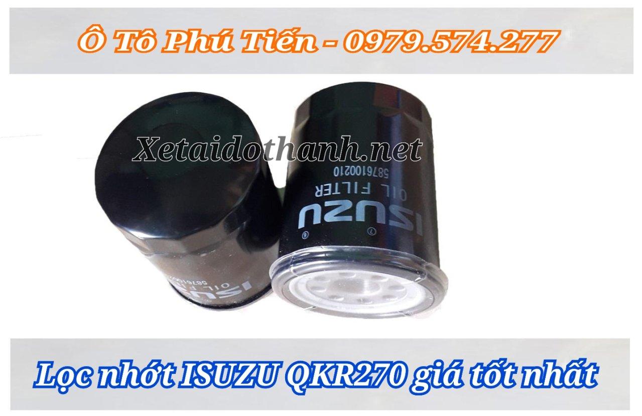 Lọc nhớt QKR270- Giá tốt nhất thị trường