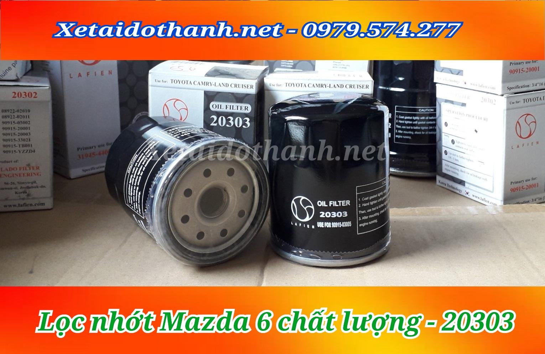 Lọc nhớt xe Mazda 6