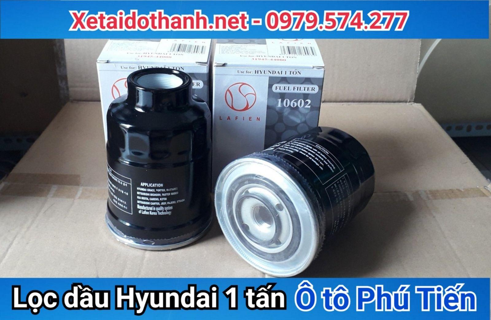 Lọc dầu Hyundai 1 tấn