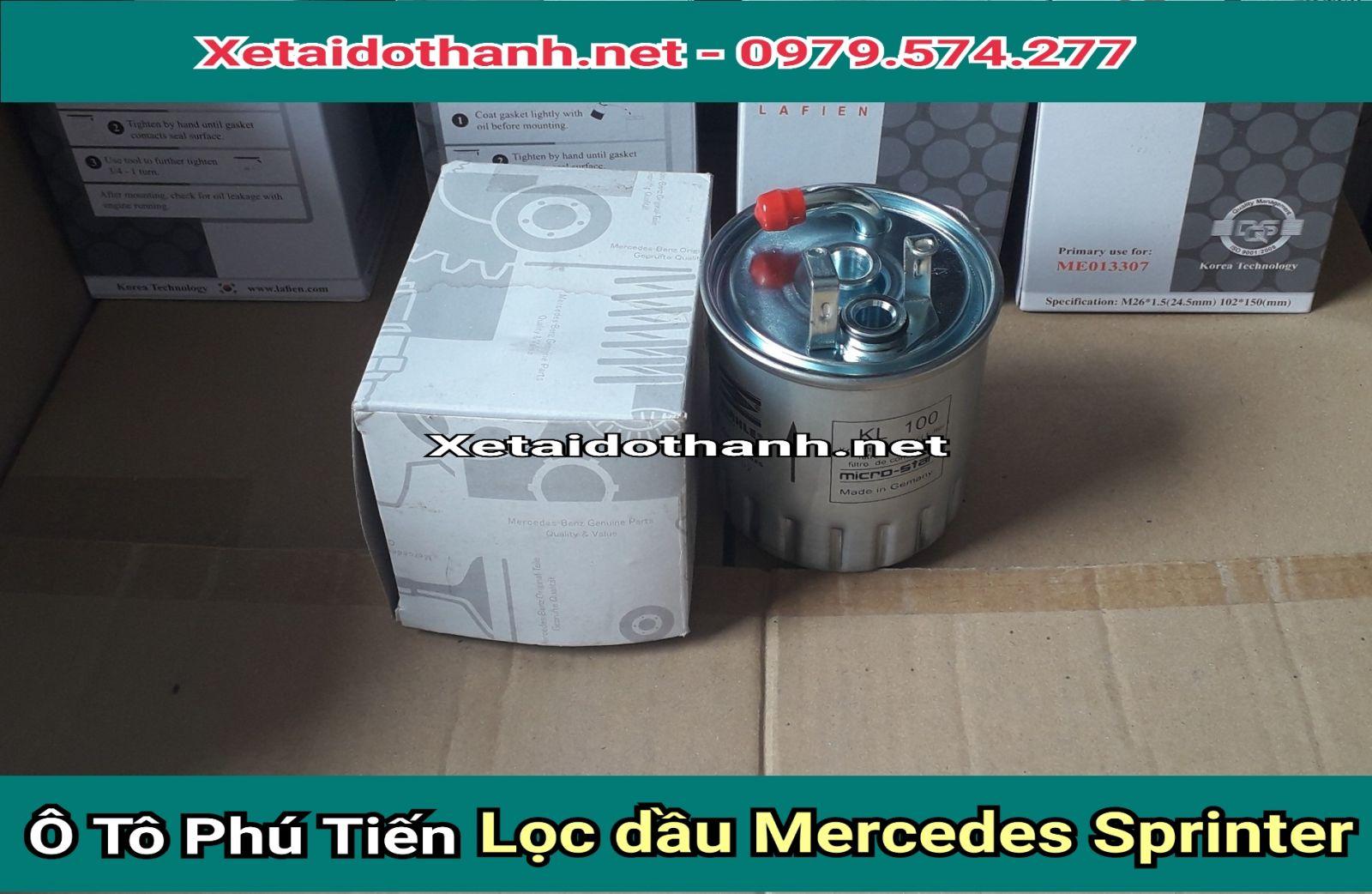 Lọc nhiên liệu Mercedes Sprinter