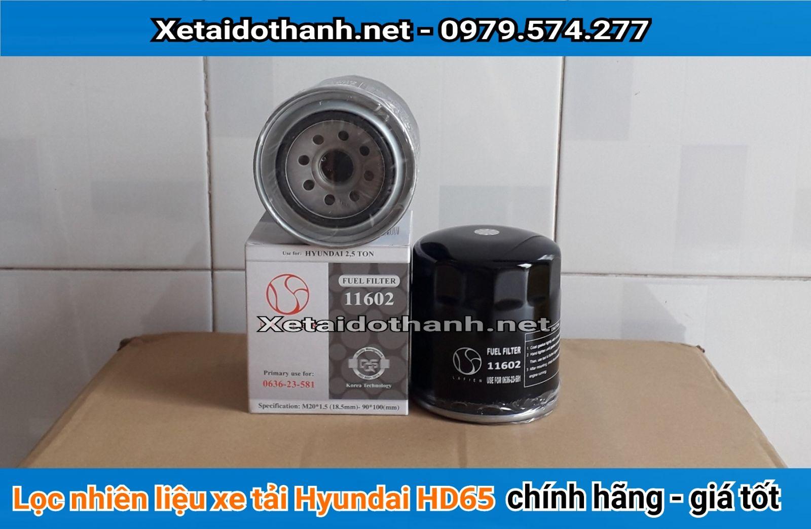 Lọc dầu xe Hyundai HD65 chất lượng cao