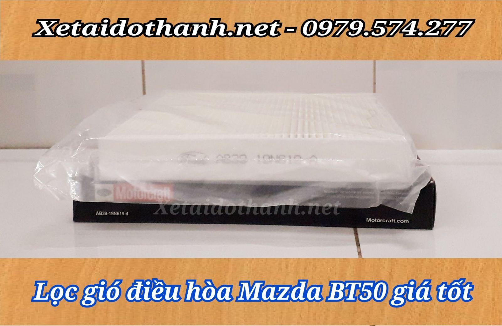 Lọc gió điều hòa Mazda BT50 chất lượng - giá tốt