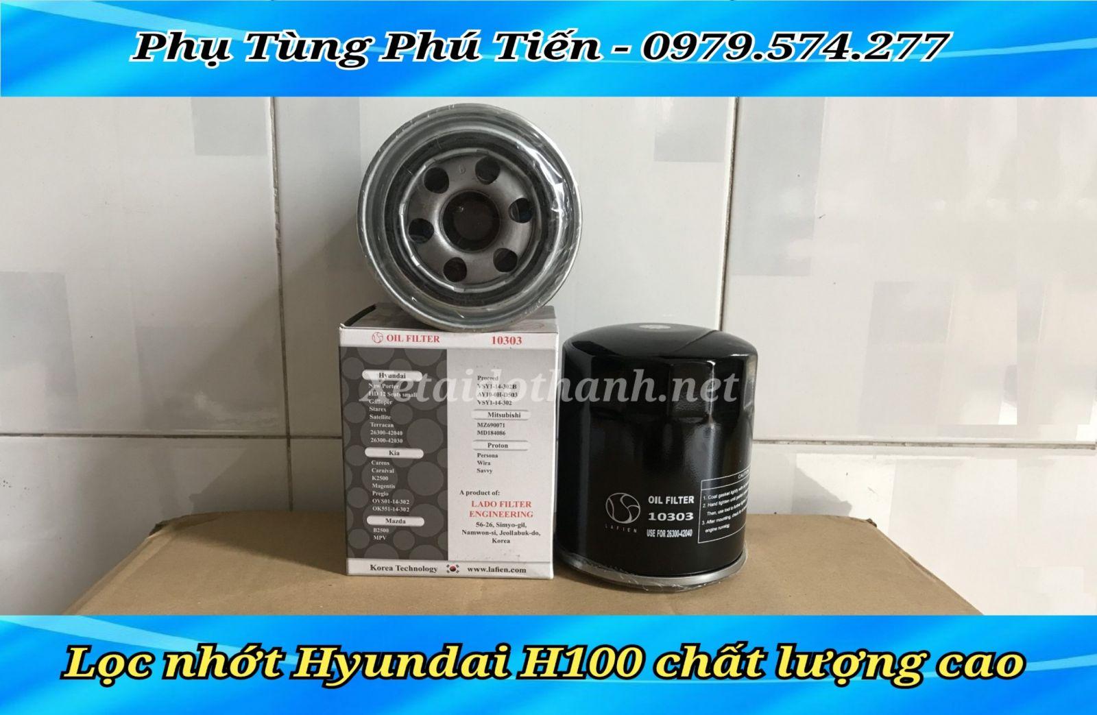 Lọc nhớt Hyundai H100 - giá tốt nhất thị trường