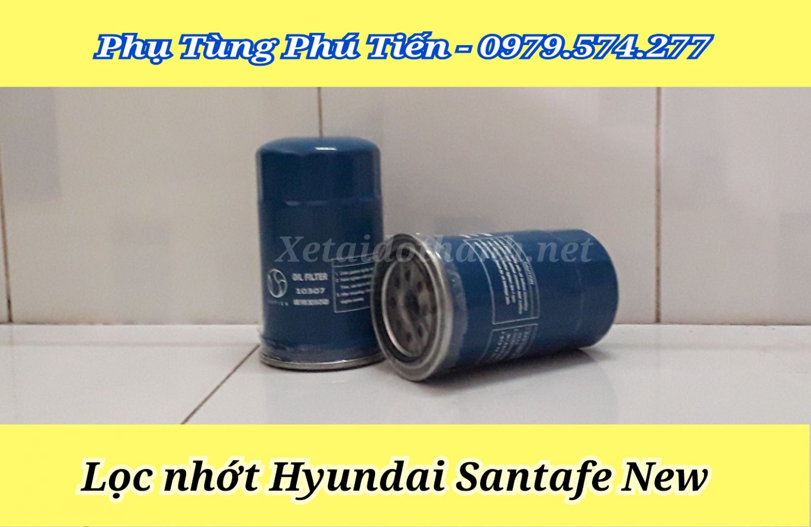 Lọc nhớt xe Hyundai Santafe New