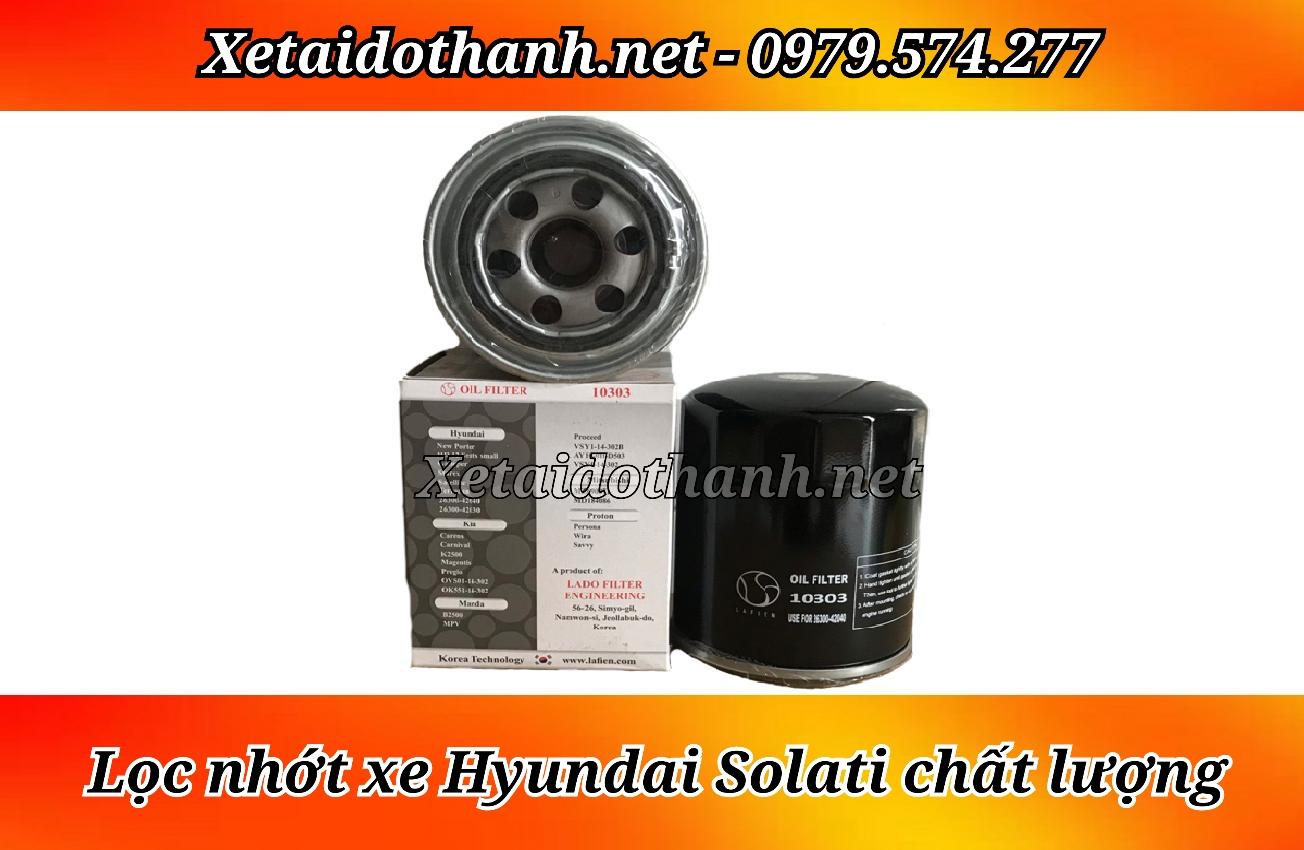 Lọc nhớt Hyundai Solati chất lượng