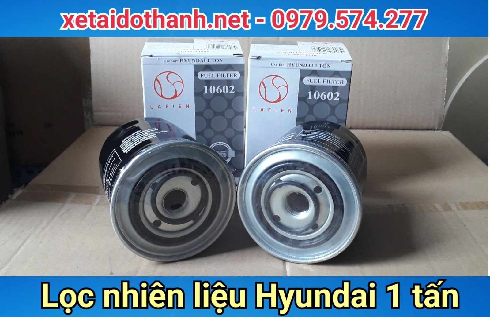 Lọc nhiên liệu xe Hyundai 1 tấn