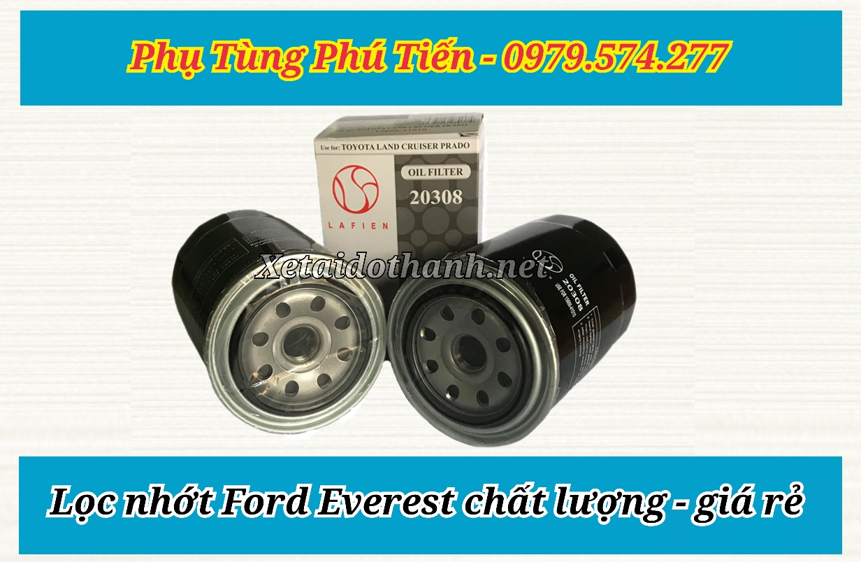 Lọc nhớt xe Ford Everest