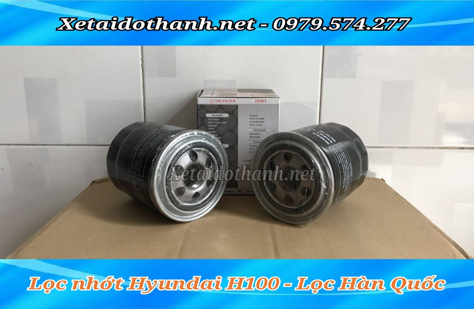 Lọc nhớt Hyundai H100 chính hãng