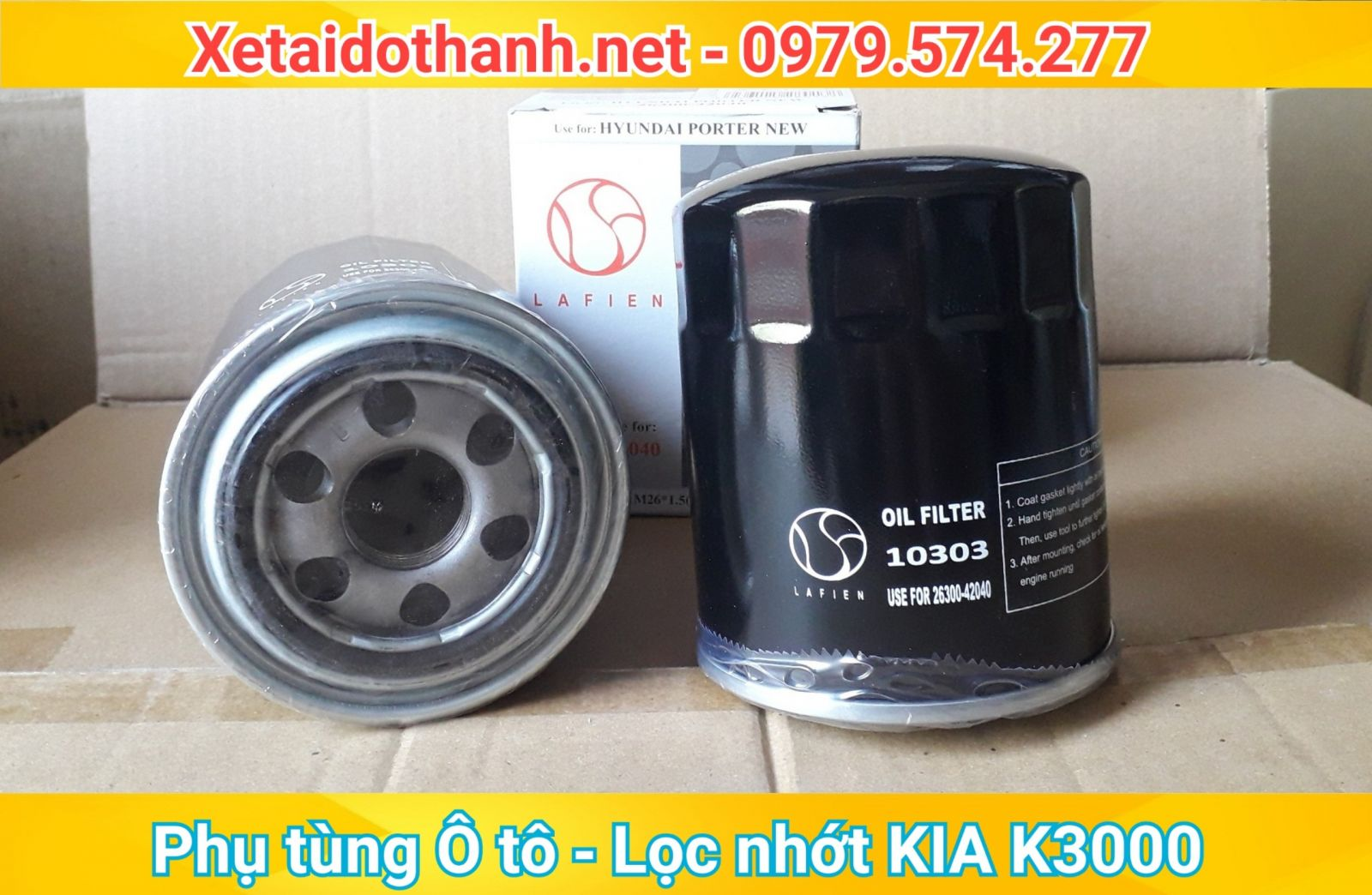 Lọc nhớt xe Kia K3000