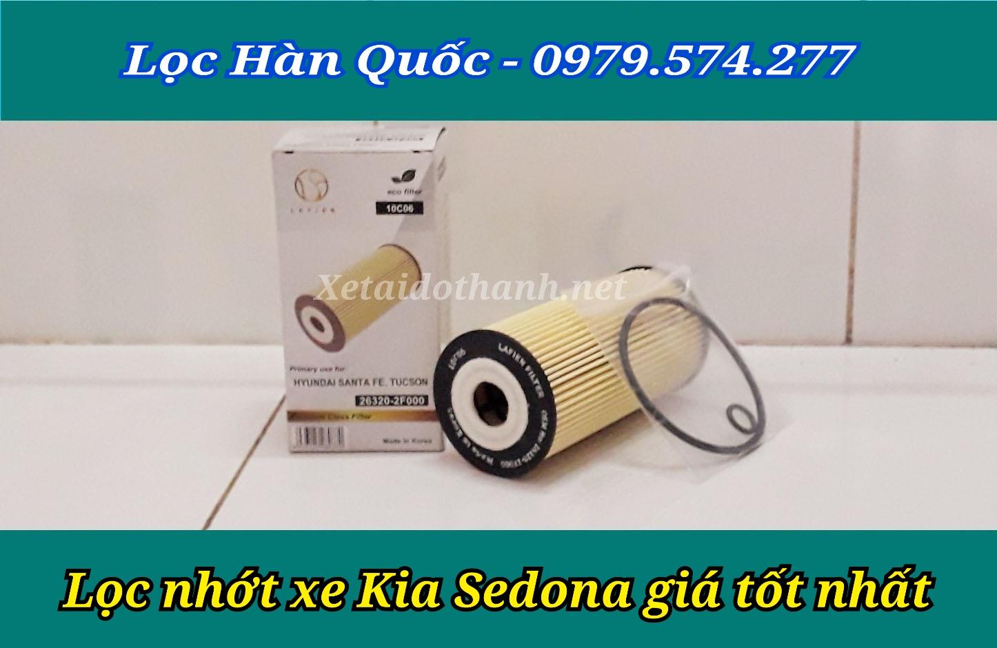 Lọc nhớt xe Sedona chất lượng