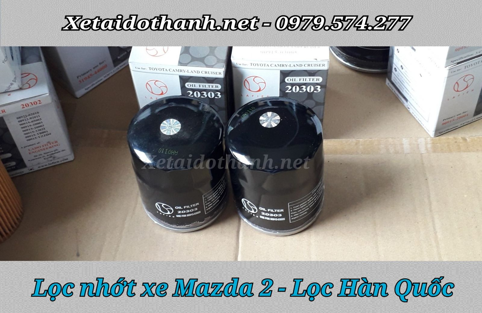 Lọc Nhớt Mazda 2 chất lượng