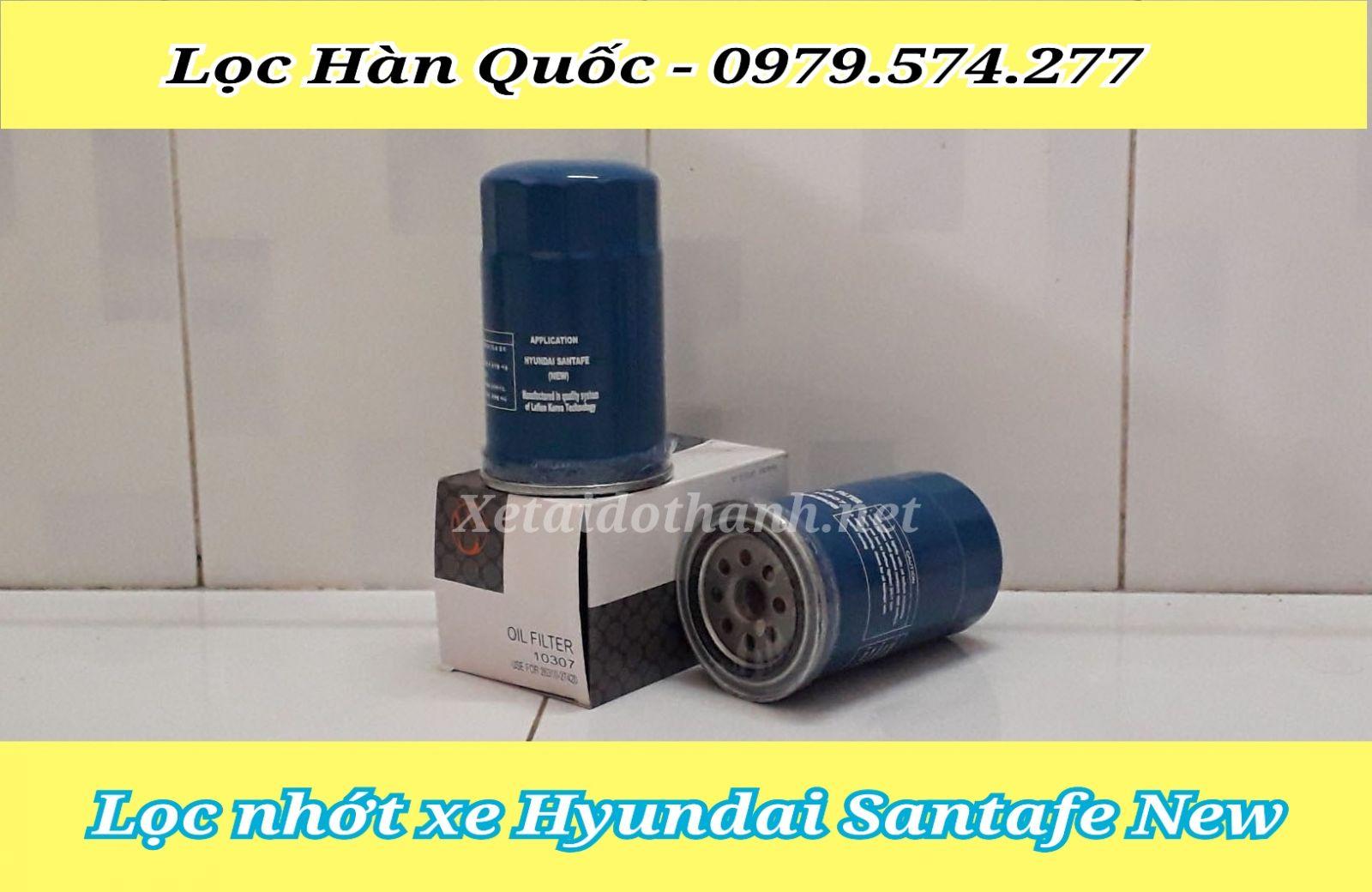 Lọc nhớt xe Hyundai Santafe chất lượng cao