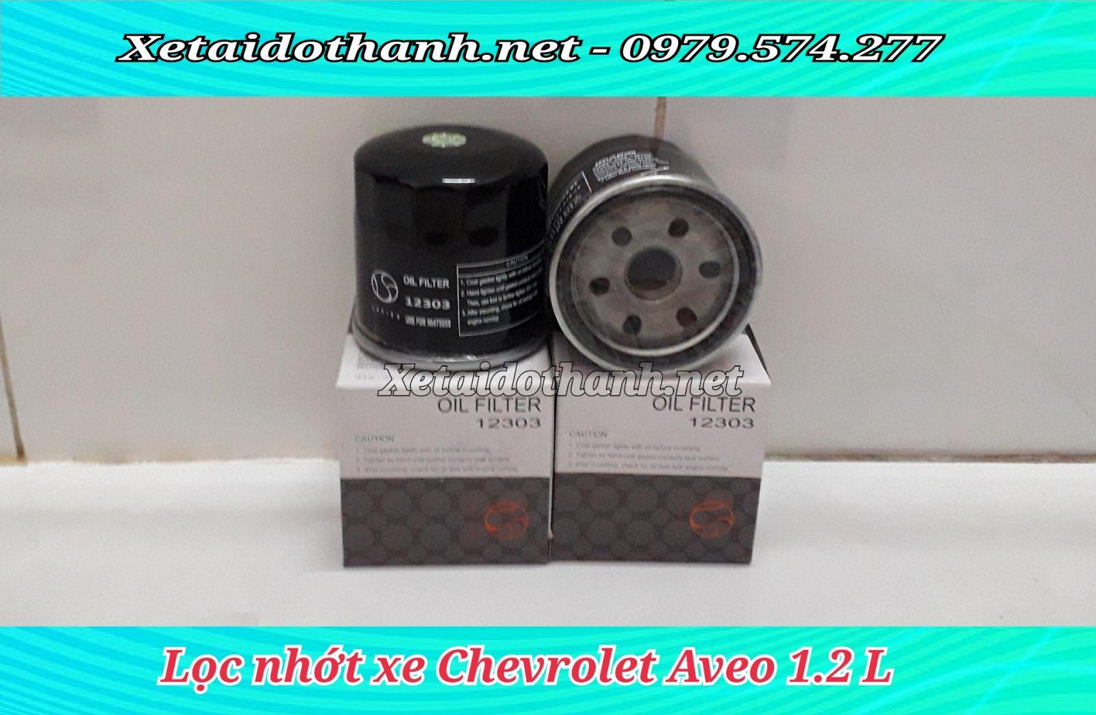 Lọc nhớt Xe Chevrolet Aveo