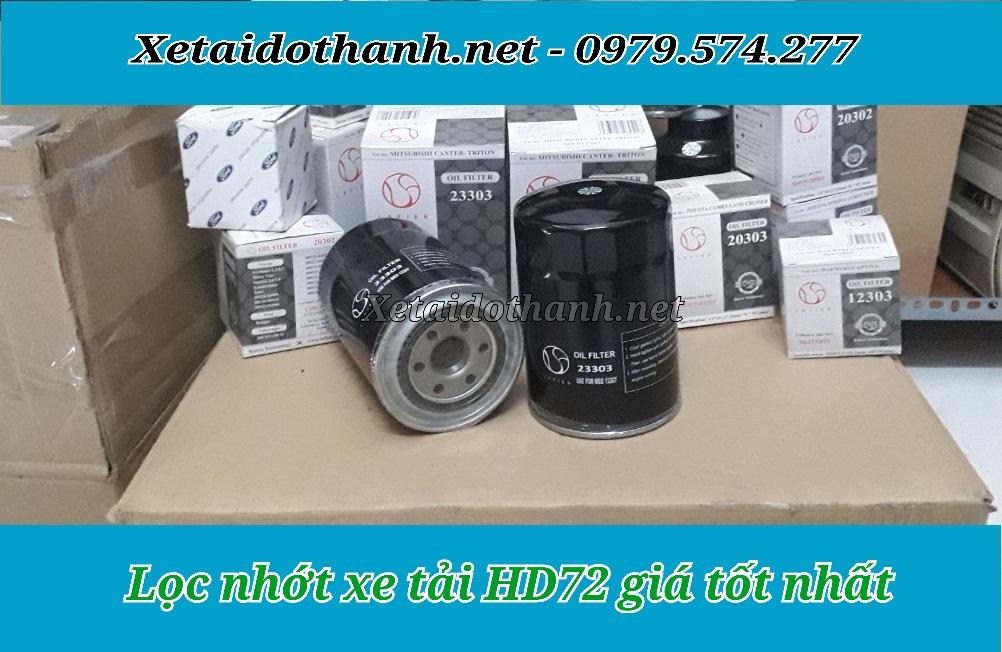 Lọc nhớt Xe Hyundai HD72 - Lọc nhớt Hàn Quốc