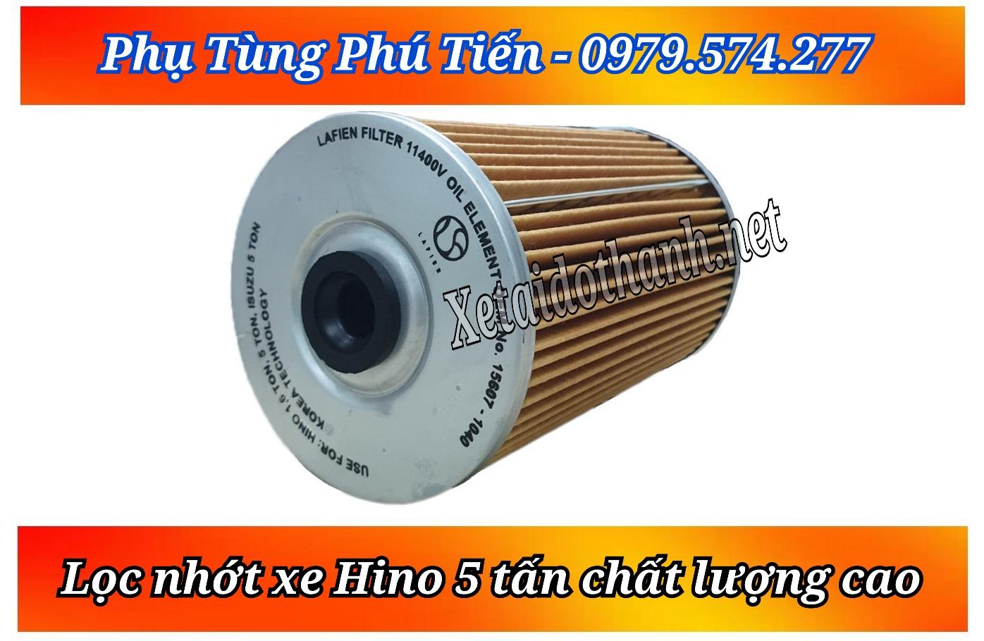 Lọc nhớt Hino 5 tấn chất lượng - giá tốt nhất thị trường