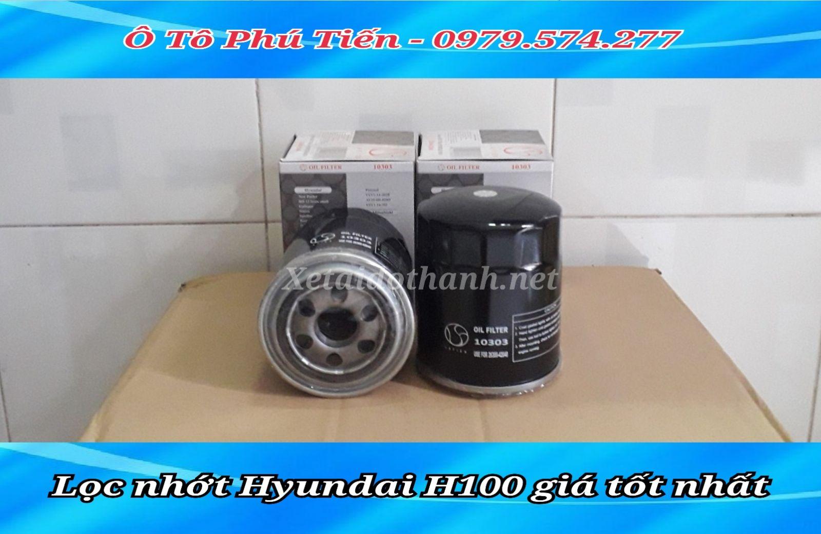 Lọc nhớt Hyundai 1 tấn H100 chất lượng cao