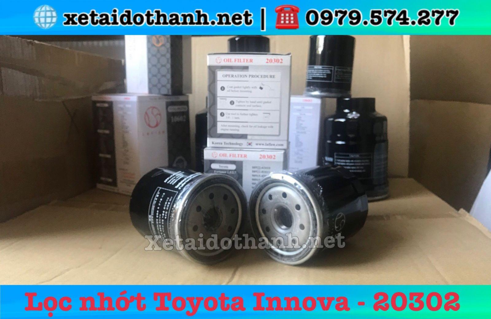 Lọc nhớt xe Toyota Innova - 20302