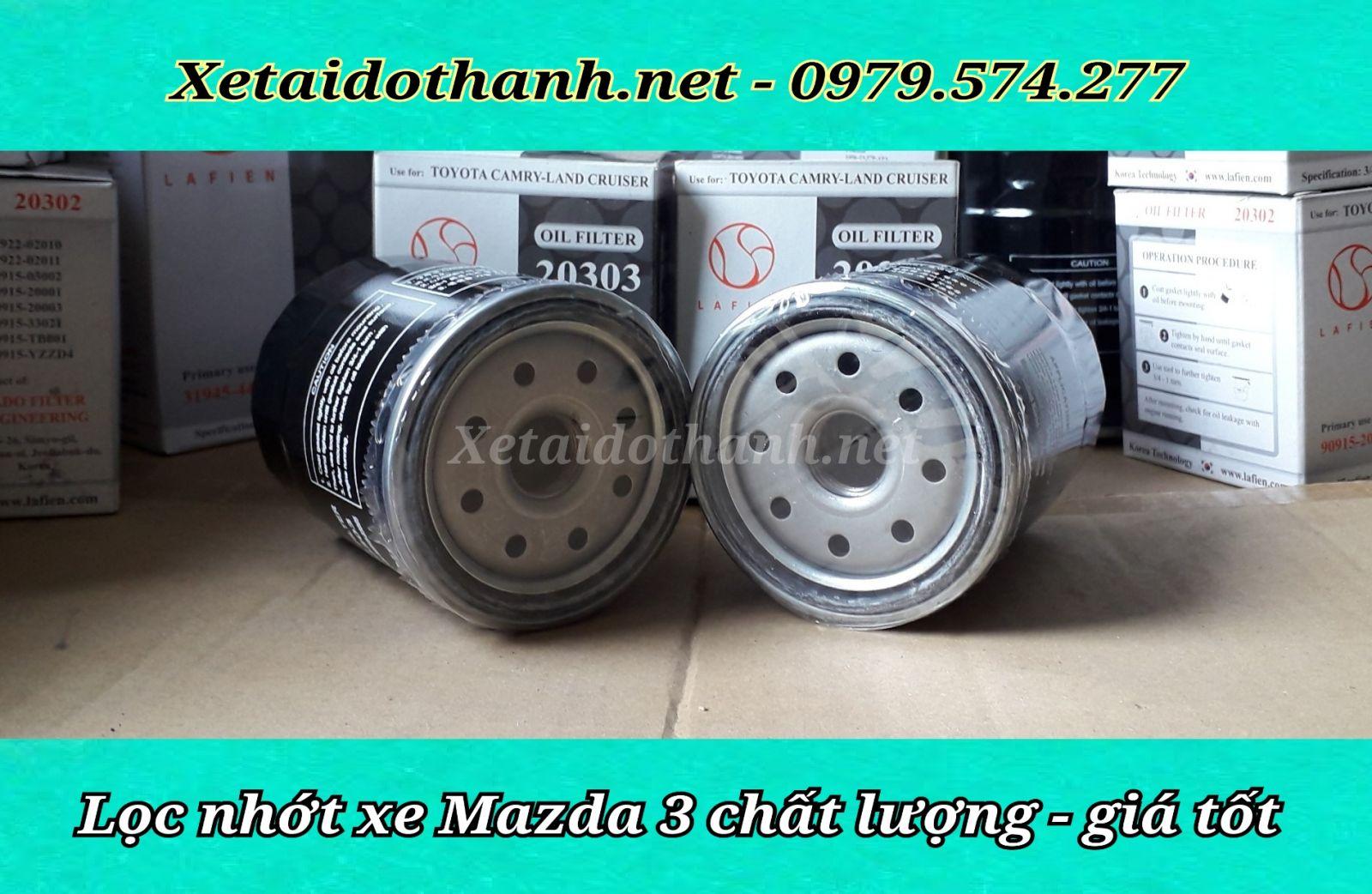Lọc nhớt xe Mazda 3