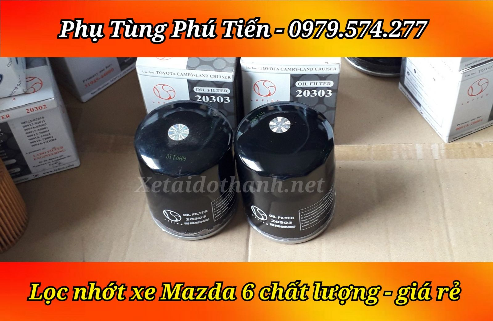 Lọc Nhớt Mazda 6 chất lượng cao