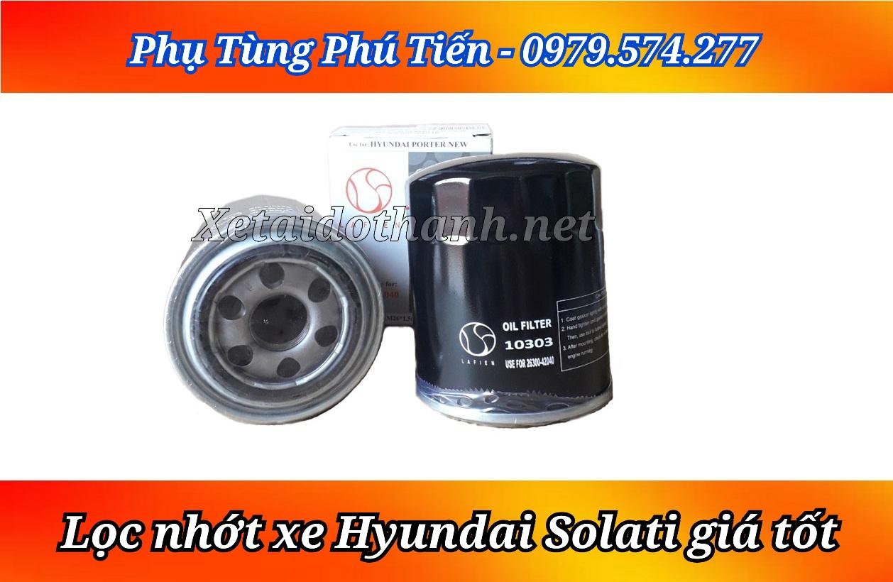 Lọc nhớt Hyundai Solati 16 chỗ chất lượng cao