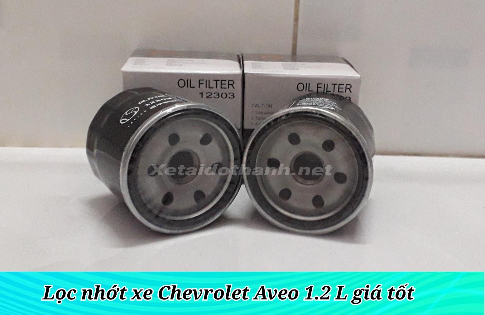 Lọc nhớt Chevrolet Aveo chất lượng