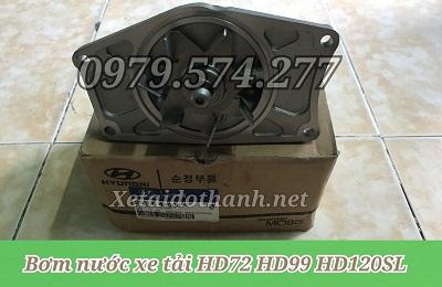 Bơm nước Hyundai HD72 HD99 HD120SL - Phụ Tùng Chính Hãng