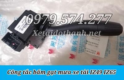 Công Tắc Bấm Gạt Mưa Xe Tải IZ49 IZ65 - Phụ Tùng Đô Thành