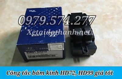 Công Tắc Bấm Kính HD65 HD72 HD99 HD120SL HD800 Giá Tốt - Phụ Tùng Hyundai
