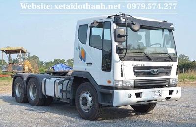 Xe Đầu Kéo Daewoo - Nhập khẩu nguyên chiếc Hàn Quốc