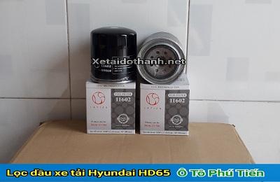 Lọc dầu xe tải Hyundai HD65 - 11602