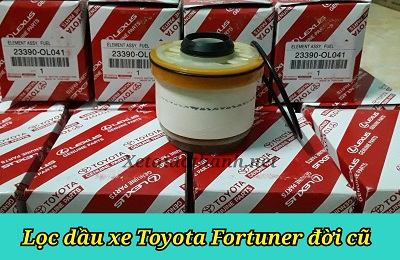 Lọc dầu xe Toyota Fortuner