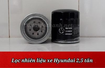 Lọc nhiên liệu Hyundai 2.5 tấn - 11602