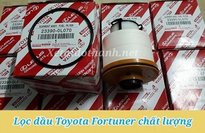 Lọc nhiên liệu Toyota Fortuner - Phụ Tùng Ô Tô Phú Tiến