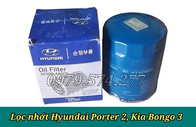 Lọc Nhớt Hyundai Porter 2 Chính Hãng - Phụ Tùng Hyundai