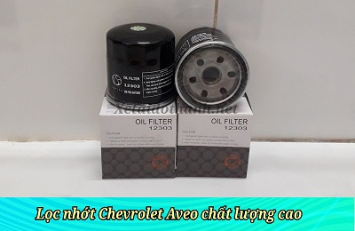 Lọc nhớt xe Chevrolet Aveo 1.2 L - 12303