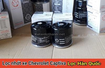 Lọc nhớt xe Chevrolet Captiva - 12303