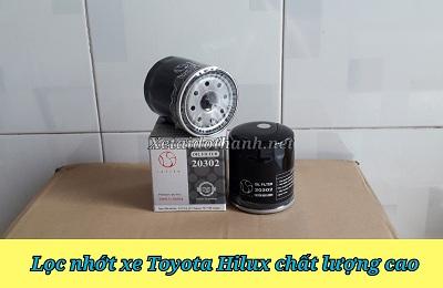 Lọc nhớt xe Toyota Hilux - 20302