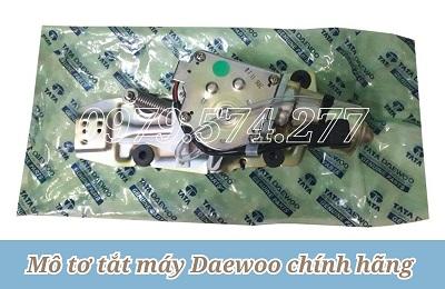Motor Tắt Máy Daewoo - Phụ Tùng Daewoo Chính Hãng