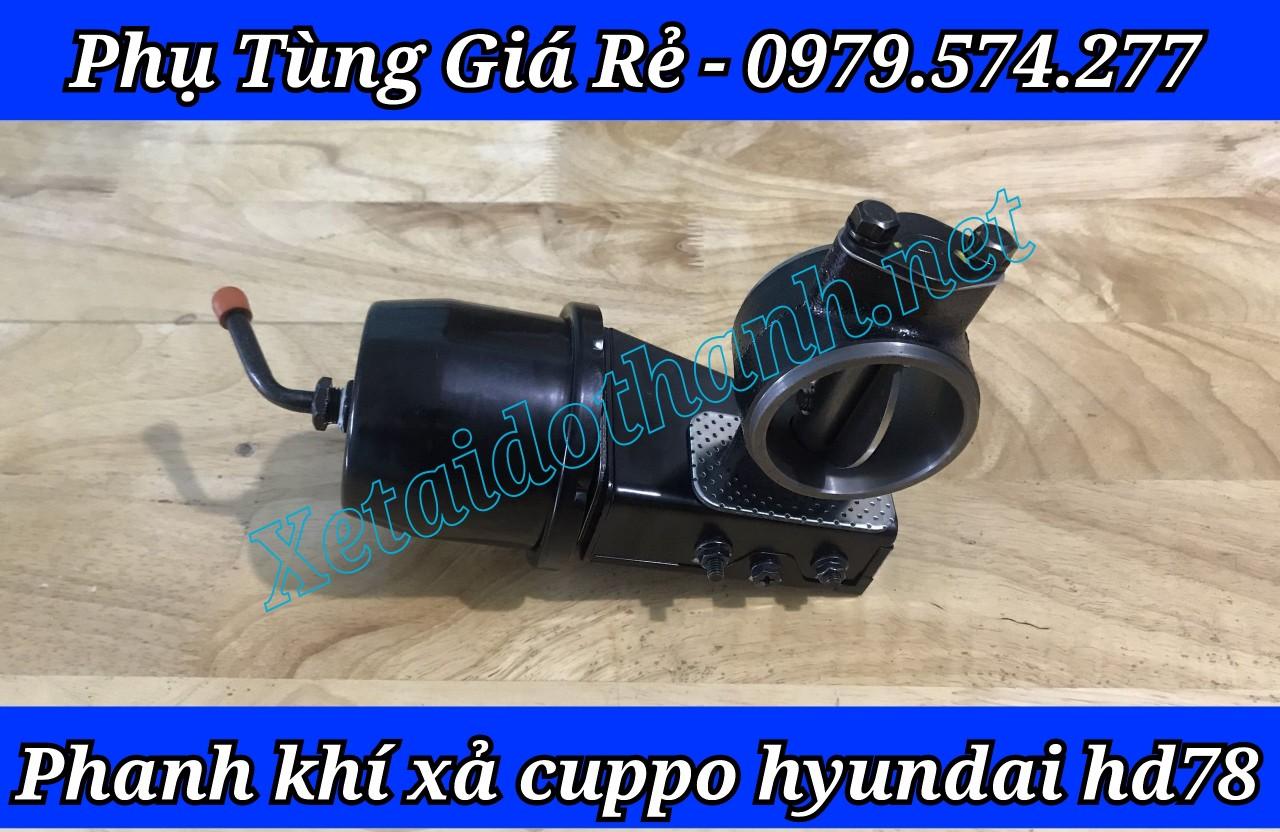 Phanh Khí Xả Cuppo Hyundai HD65 HD72 HD99 HD120SL Chính Hãng - Phụ Tùng Hyundai