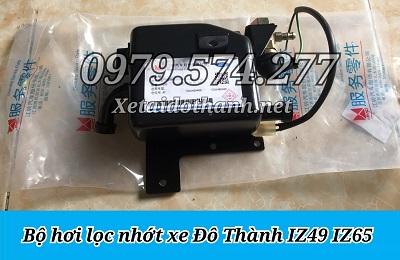 Phụ Tùng Đô Thành: Bộ Hơi Lọc Nhớt Xe Tải IZ49 IZ65 Giá Tốt