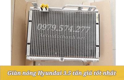 Phụ Tùng Hyundai: Giàn Nóng Xe Tải HD72, HD99, HD120SL Giá Tốt Nhất
