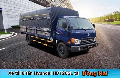 XE TẢI 8 TẤN HYUNDAI HD120SL TẠI ĐỒNG NAI
