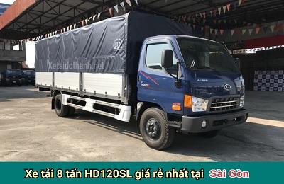 XE TẢI 8 TẤN HYUNDAI HD120SL TẠI TP. HCM - VAY CAO 80% XE