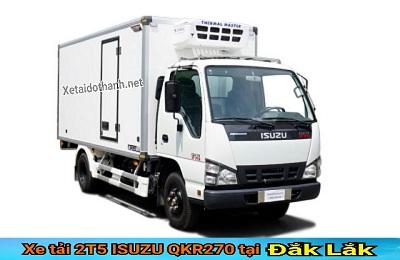 Xe tải ISUZU QKR270 TẠI ĐẮK LẮK - 2T5 -GIÁ RẺ