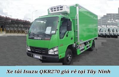 Xe tải ISUZU QKR270 TẠI TÂY NINH - 2T5 - VAY 80% XE