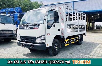 Xe tải ISUZU QKR270 TẠI TP. HCM - 2T5 - VAY 80% XE